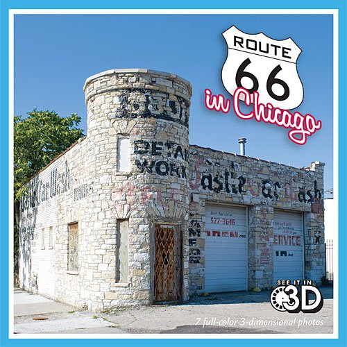 Route 66 in Chicago (View-Master reel): Matt Bergstrom