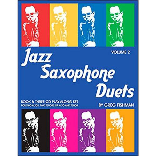9780984349203: JAZZ STUDIO FISHMAN G. - JAZZ SAXOPHONE DUETS V.2 + 3 CD 'S