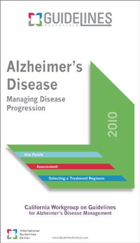 9780984360413: Alzheimers Disease GUIDELINES Pocketcard™: Managing Disease Progression (Guidelines Pocketcards)
