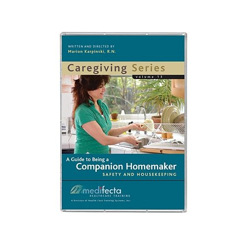 9780984362431: Medifecta Healthcare Training Caregiving Series Volume 13 (Companion Homemaker: Safety and Housekeeping) DVD