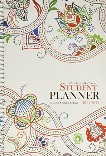 9780984378838: Well Planned Day, Student Planner Floral Style, July 2011 - June 2012