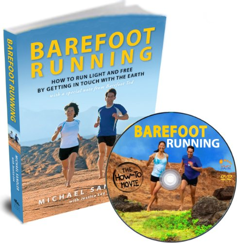 9780984382248: Barefoot Running Book and DVD Set (US Version) Run Light and Free! Learn Natural Running Form Barefoot or in Minimalist Shoes ? Includes Earthing