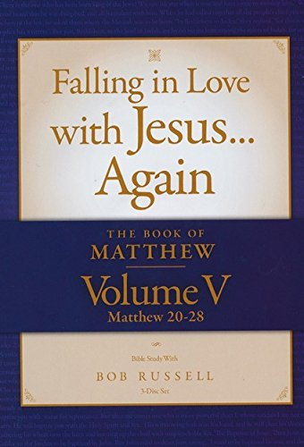 9780984417087: The Book of Matthew Vol. V (Matthew 20-28) DVD Falling in Love with Jesus...Again