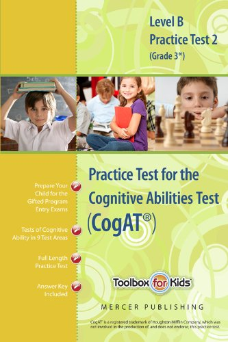 9780984421008: Cognitive Abilities Test CogAT® Multilevel B Book (Grade 3*) - Practice Test 2 (Form 6)