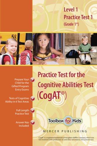 Practice test cogat form level by mercer publishing abebooks cognitive abilities test cogat primary level 1 mercer publishing fandeluxe Image collections