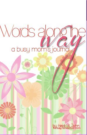 9780984432363: Words Along the Way a Busy Mom's Journal