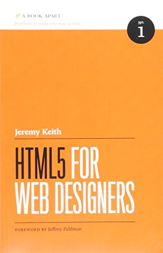 9780984442508: HTML5 for Web Designers