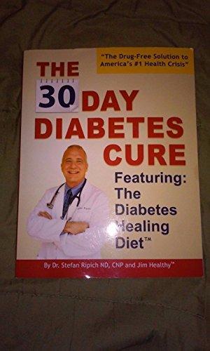 30 Day Diabetes Cure: Dr. Stefan Ripich