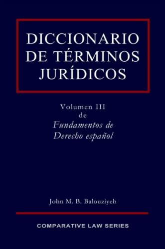 Diccionario de T Rminos Jur Dicos: John Balouziyeh
