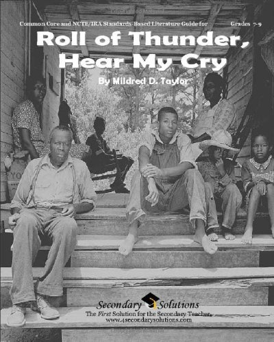Roll of Thunder, Hear My Cry Literature Guide (Secondary Solutions): Mary Pat Mahoney