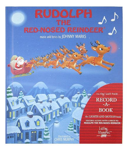 Rudolph The Red-Nosed Reindeer Recordable Story Book: Marks, Johhny