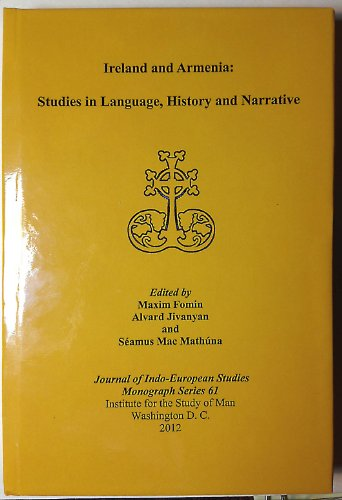 9780984538386: Ireland and Armenia: Studies in Language, History and Narrative
