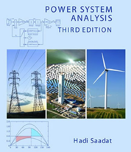 Power system Analysis: Saadat, Hadi