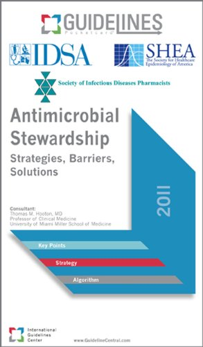 9780984629053: Antimicrobial Stewardship GUIDELINES Pocketcard: Strategies, Barriers, Solutions