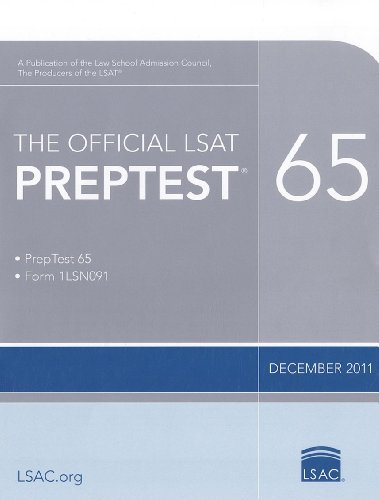 Official LSAT Preptest 65