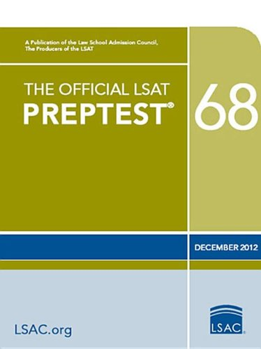 Official LSAT Preptest 68