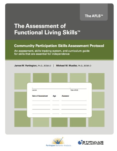 9780984704897: AFLS Community Participation Skills Assessment Protocol (Assessment of Functional Living Skills)