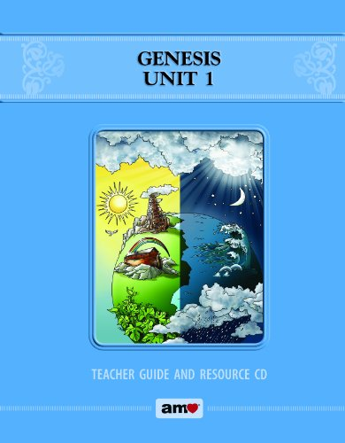 9780984752973: Genesis Unit 1 Teacher Guide and Resource CD (Bible Reading for Reasoning)
