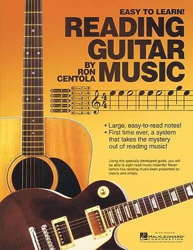 READING GUITAR MUSIC: Ron Centola