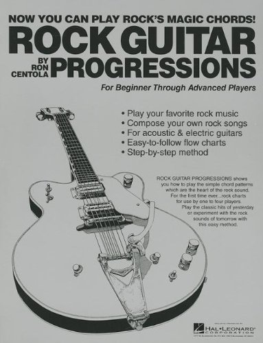 ROCK GUITAR PROGRESSIONS (0984824448) by Ron Centola