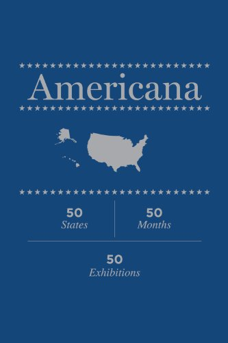 9780984960903: Americana: 50 States, 50 Months, 50 Exhibitions