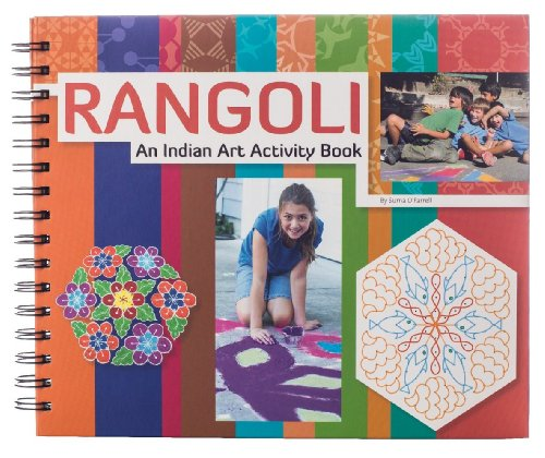 Rangoli: An Indian Art Activity Book (Parents' Choice Recommended): Suma O'Farrell