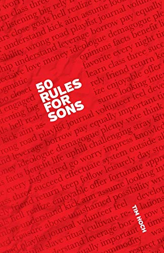 9780984970209: 50 Rules For Sons