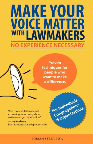 9780984974917: Make Your Voice Matter with Lawmakers: No Experience Necessary