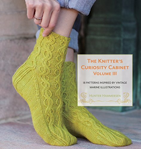 9780984998241: The Knitter's Curiosity Cabinet: Volume III: 18 Patterns Inspired by Vintage Marine Illustrations