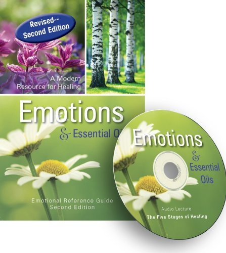 9780985013387: Emotions & Essential Oils, 2nd Edition Book + Audio CD (Bookmark Included)