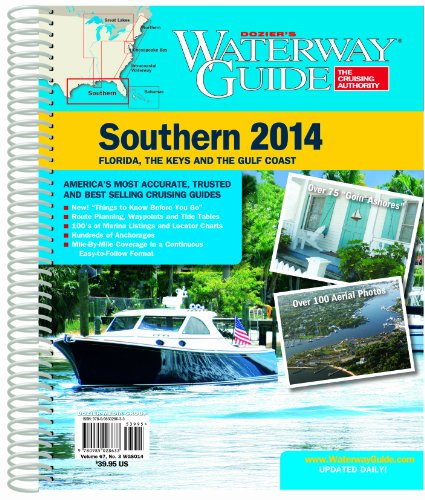 9780985028633: Waterway Guide Southern 2014