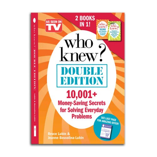Who Knew? Double Edition (0985037415) by Bruce Lubin