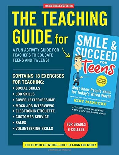 9780985076252: Social Skills for Teens: The Teaching Guide for Smile & Succeed for Teens