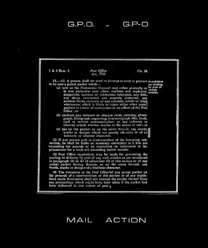 9780985136444: G.P.O versus G.P-O: A Chronicle of Mail Art on Trial Compiled by Genesis P-Oridge and COUM