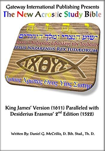 9780985175344: The New Acrostic Study Bible Vol. 5 - Parallel Erasmus Greek New Tesatament
