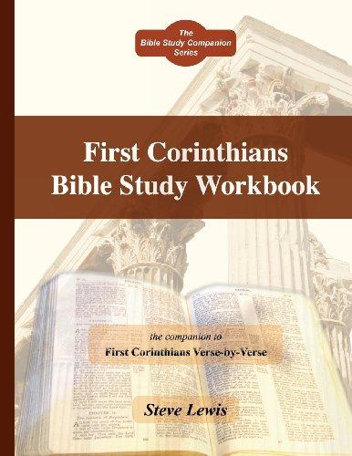 First Corinthians Bible Study Workbook: Steve Lewis