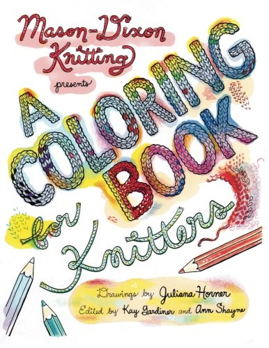 9780985210038: A Coloring Book for Knitters