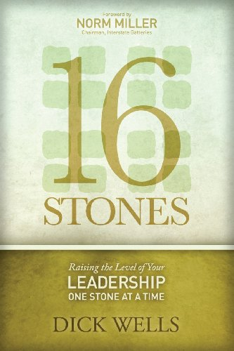 9780985303839: 16 Stones: Raising the Level of Your Leadership One Stone at a Time