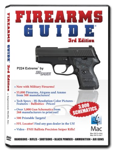 9780985305413: Firearms Guide: Handguns, Rifles, Shotguns, Black Powder, Ammunition, Air Guns