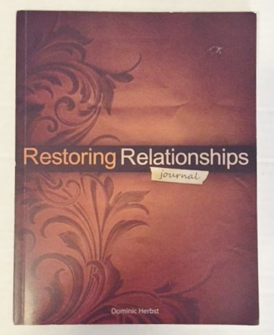 9780985327002: Restoring Relationships Journal