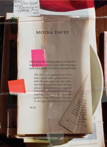 9780985337728: Moyra Davey: Burn the Diaries