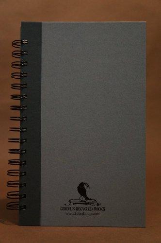 9780985355050: Corvus Recycled Journal by LibriLoop Grey on Gray
