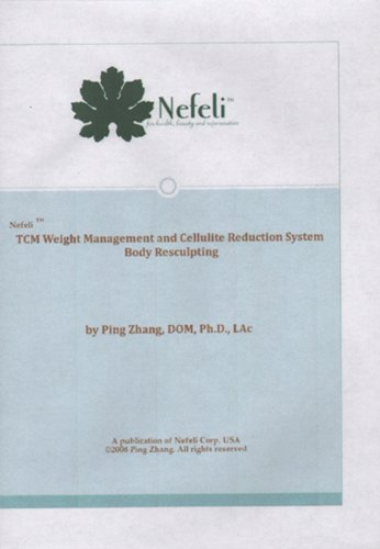 9780985380885: TCM Weight Management and Cellulite Reduction System Body Resculpting