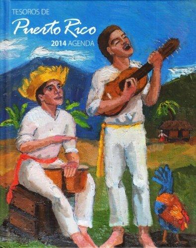 9780985504632: Tesoros De Puerto Rico-agenda 2014