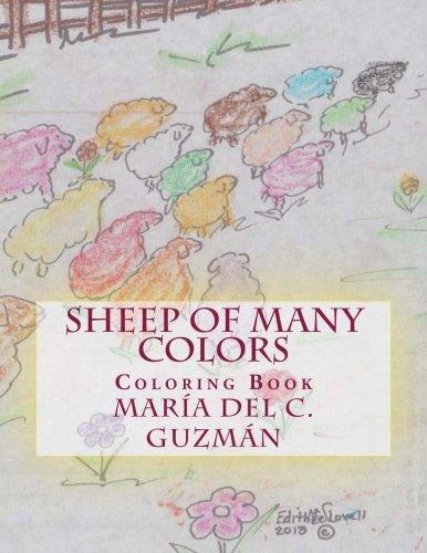 Sheep of Many Colors: Coloring Book (Volume 1): Guzman, Maria del C