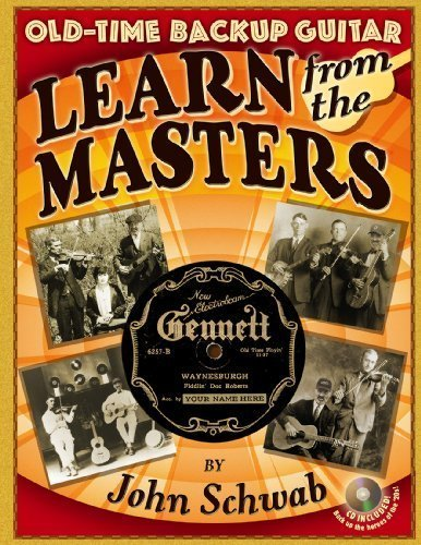 9780985595609: Old-Time Backup Guitar: Learn From the Masters
