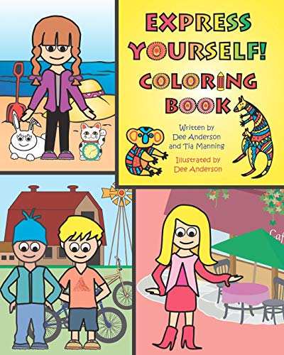 9780985619398: EXPRESS YOURSELF Coloring Book