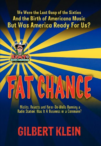 9780985679026: Fat Chance: We Were the Last Gasp of the 60s and the Birth of Americana Music, But Was America Ready for Us?