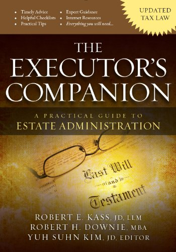 9780985681401: The Executor's Companion:A Practical Guide to Estate Administration