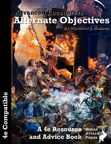 9780985751425: Advanced Encounters: Alternate Objectives (D&D 4e)
